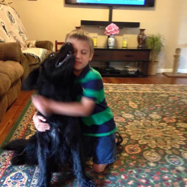 Boy Asks For Dog Food Instead Of Presents For His Birthday (Image 1)_26380