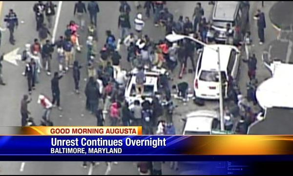 Unrest Continues Overnight In Baltimore (Image 1)_27472