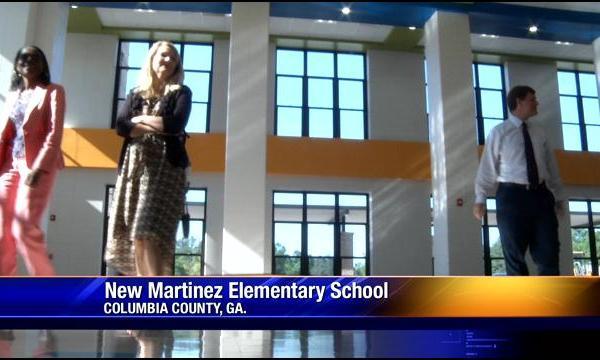 Columbia County BOE Members Get Walk Through of New Martinez Elementary School (Image 1)_27960