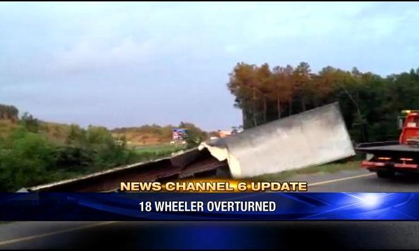18-Wheeler Overturned On I-20 at Palmetto Parkway (Image 1)_30276