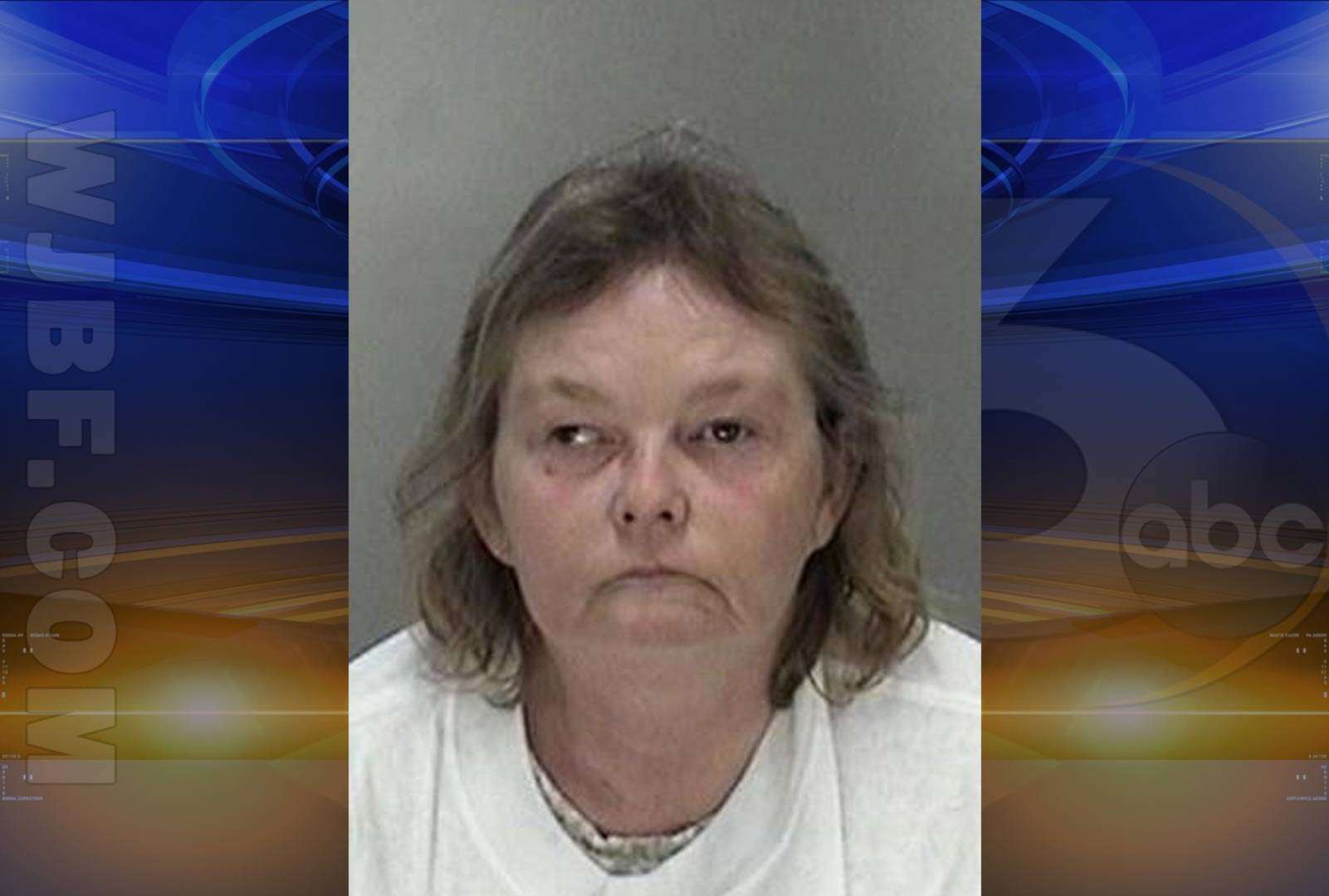 Mug shot photo of 48-year-old Patricia Lee Ystenes (Courtesy: Richmond County Sheriff's Office)