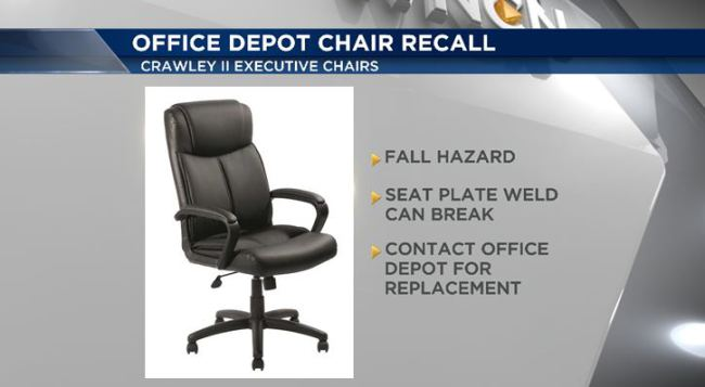 Recall on chair_107674