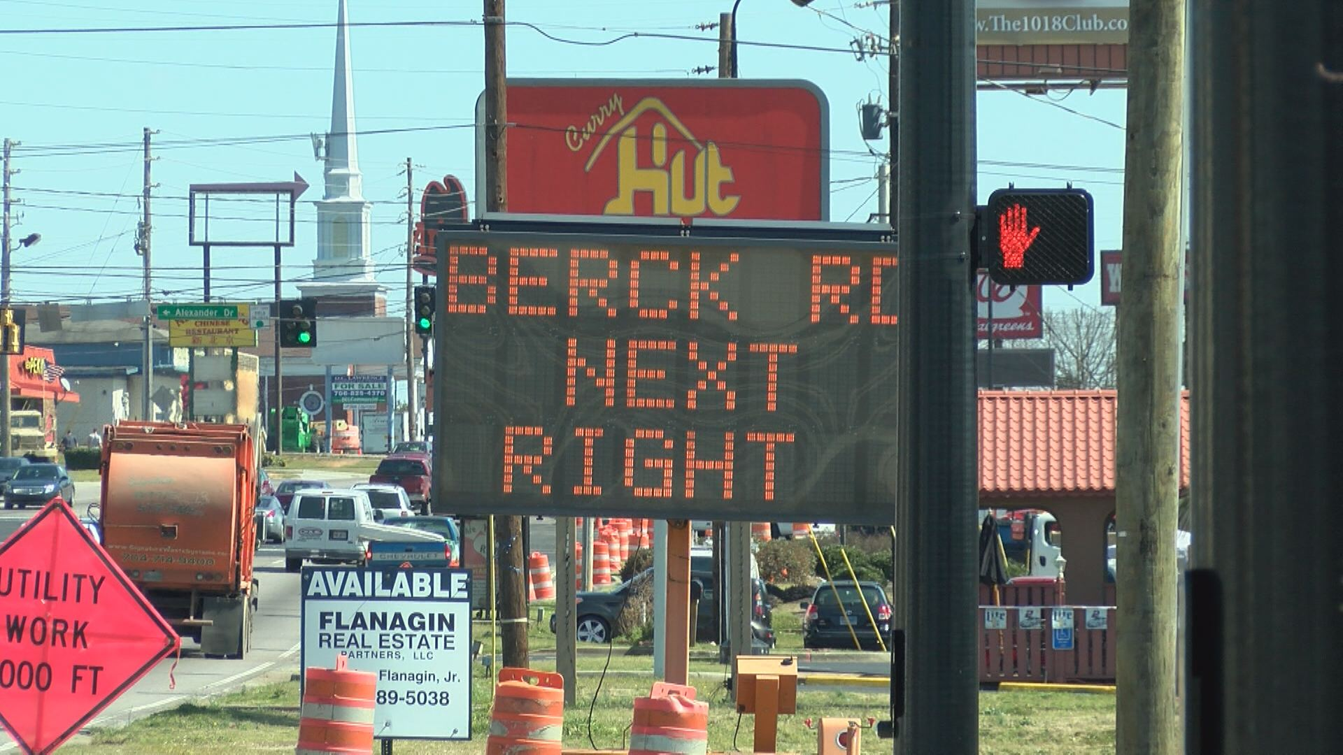 New Berkmans Road opens to traffic for the first time Monday._124482