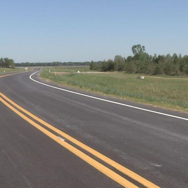 Access road built at Augusta Regional Airport._132590