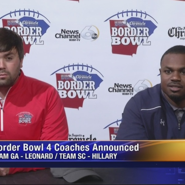 Aquinas's Leonard & Strom Thurmond's Hillary Named Border Bowl 4 Head Coaches