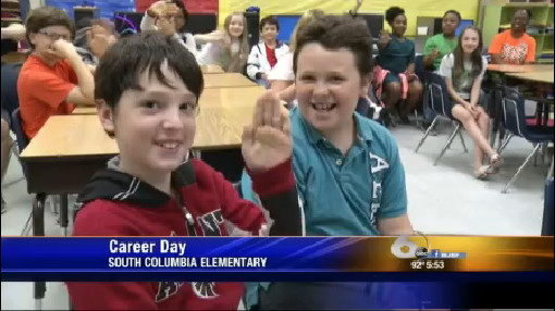 Career Day at South Columbia Elementary School in Martinez, GA - April 29, 2016_142313