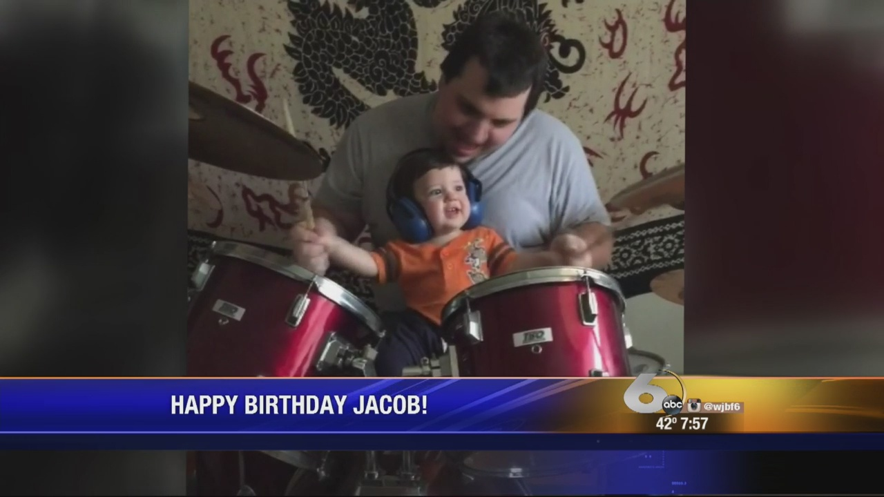 Jacob playing drums_136312