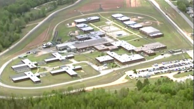 Aerial view of Perry Correctional is Pelzer, SC._136611