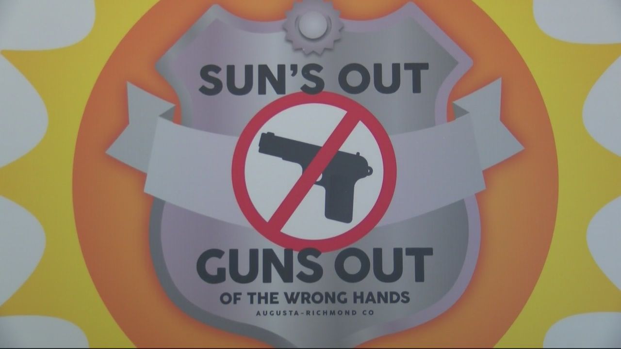 Richmond County Sheriff's Office Announces Suns Out, Guns Out of the Wrong Hands Initiative_139537