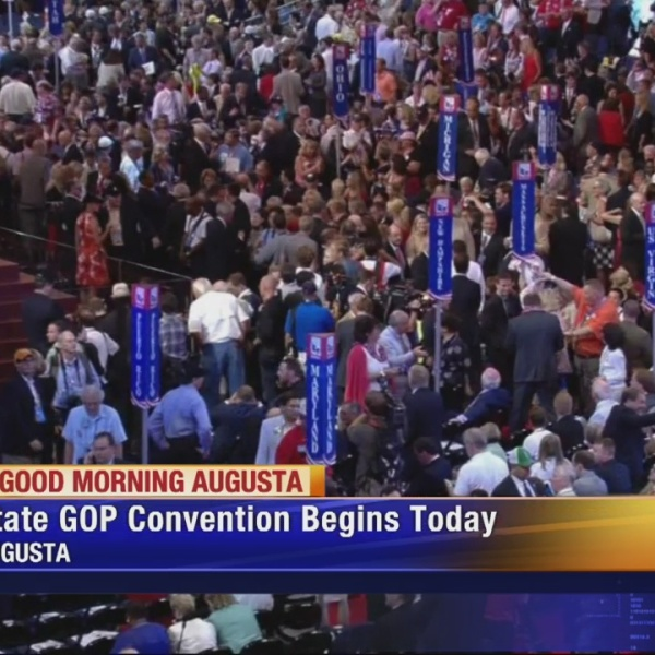 The Georgia Republican Party holding state convention in Augusta