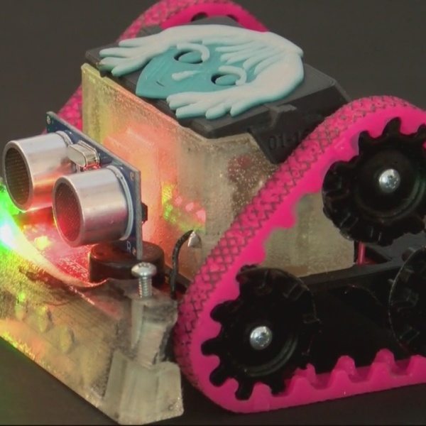 WHEN ROBOTS ATTACK: Student Built 3D Robots To Win College Scholarship