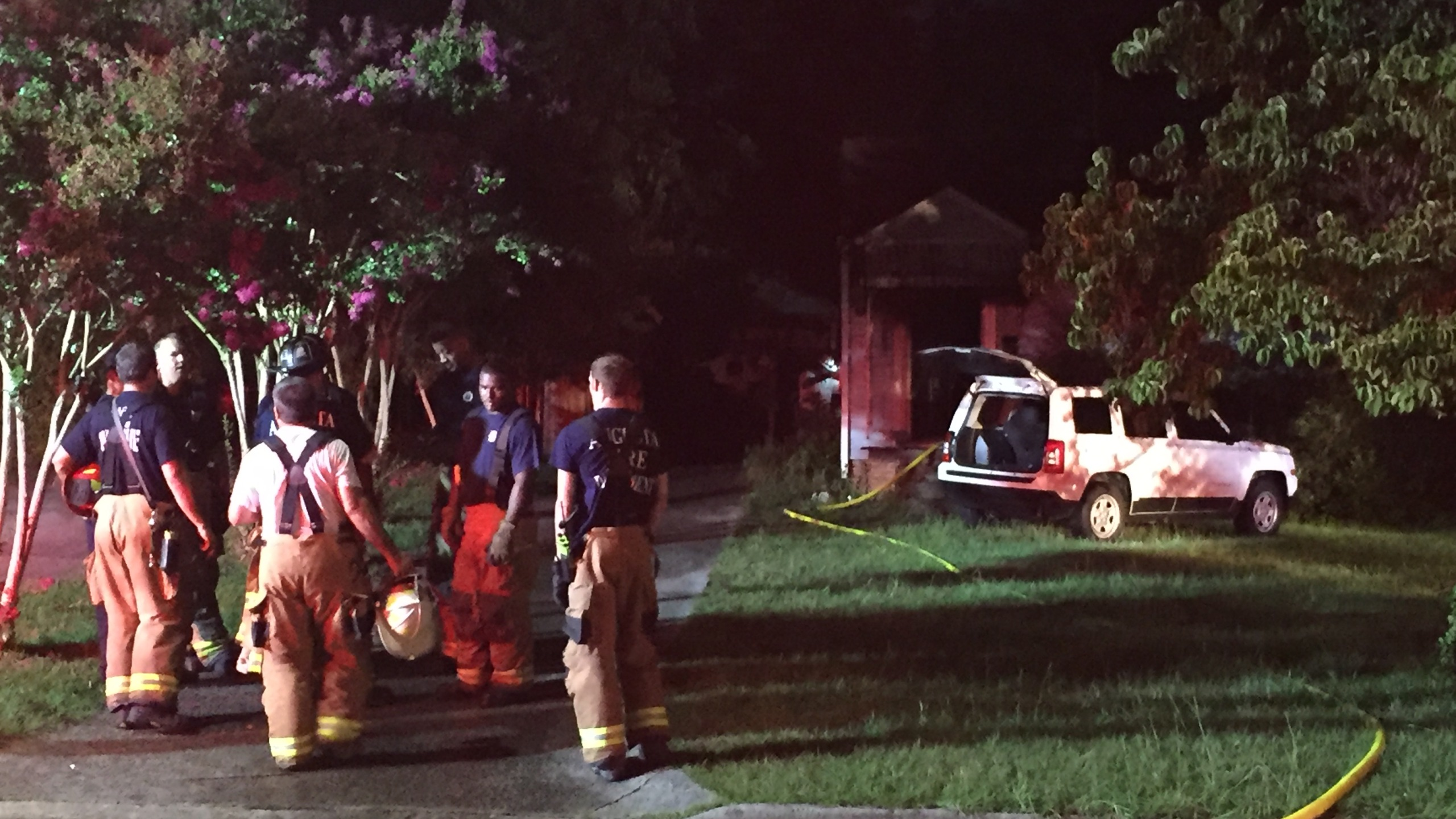 Augusta Fire Department Responds to Beaufort Drive House Fire_163605