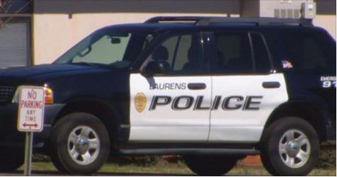 Laurens Police vehicle_162188