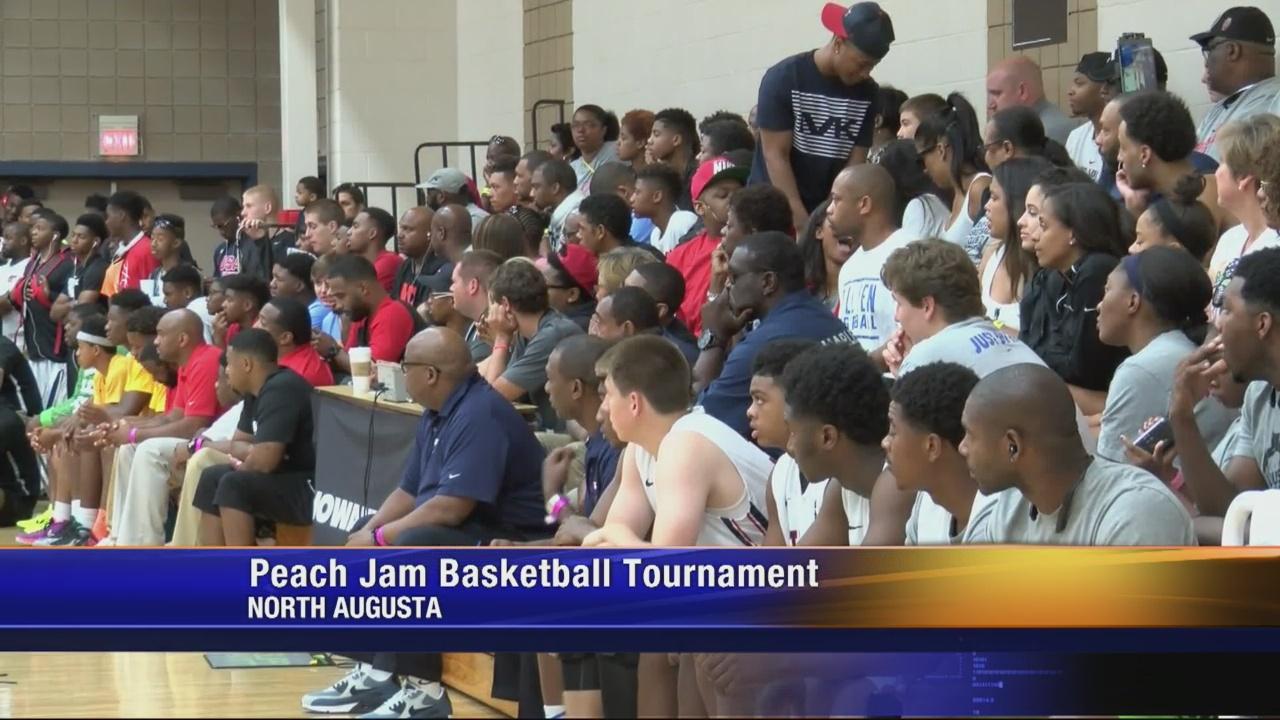Peach Jam Basketball Tournament Boosts Local Economy_160466