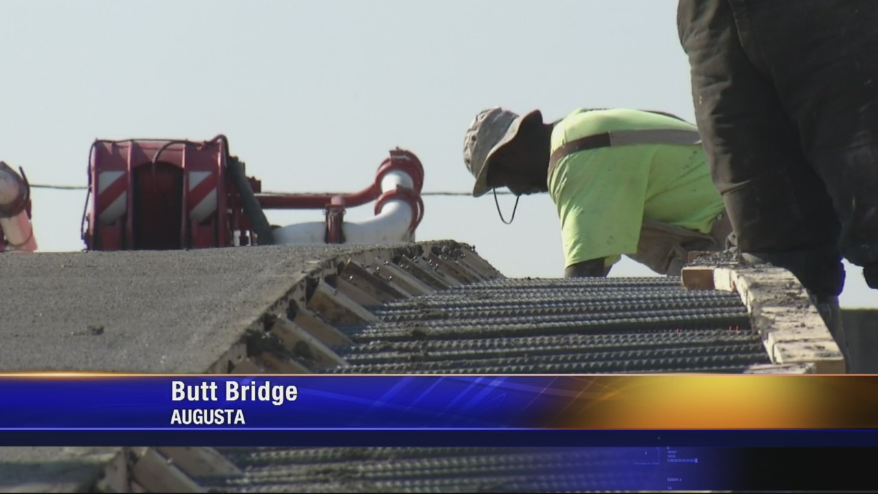 Butt Bridge gets new deck
