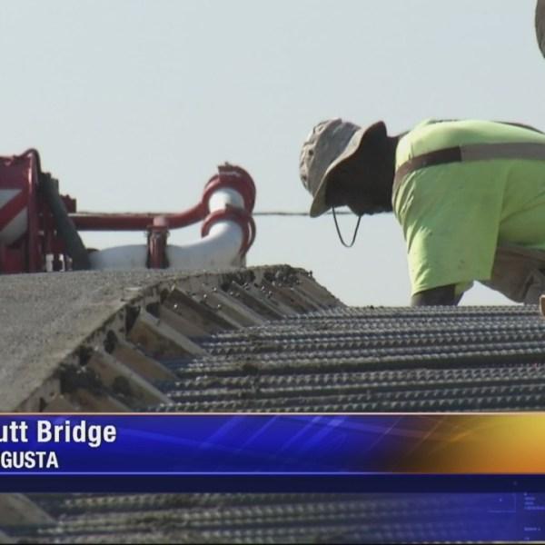 Butt Bridge gets new deck