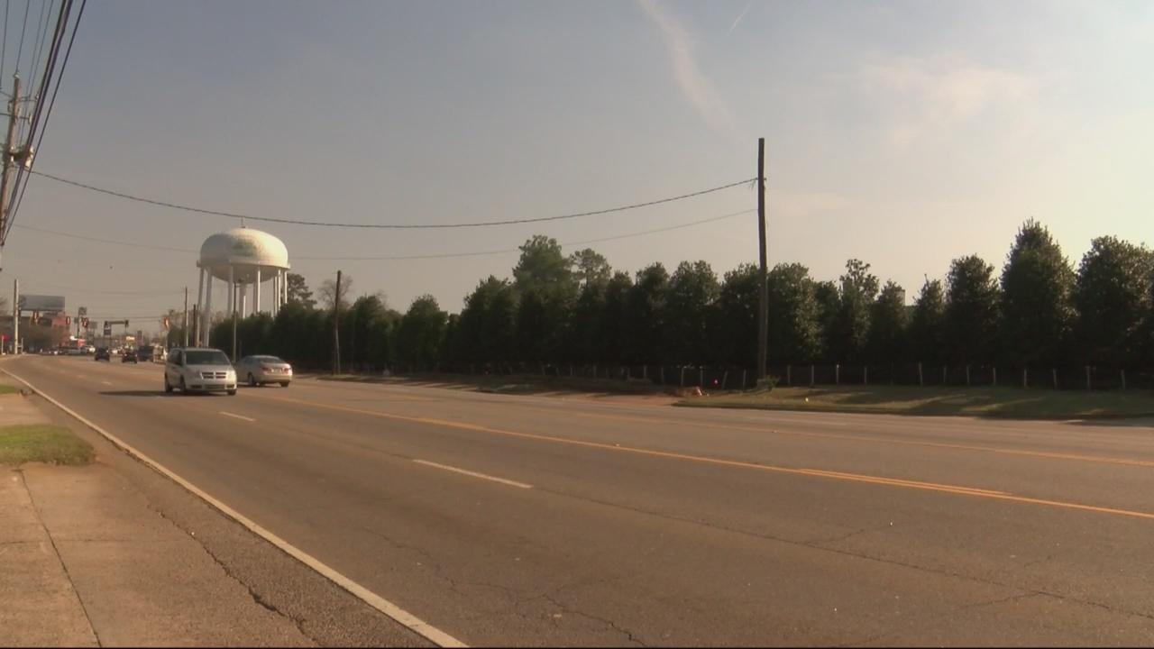 Businesses demolished, trees planted along Washington Road