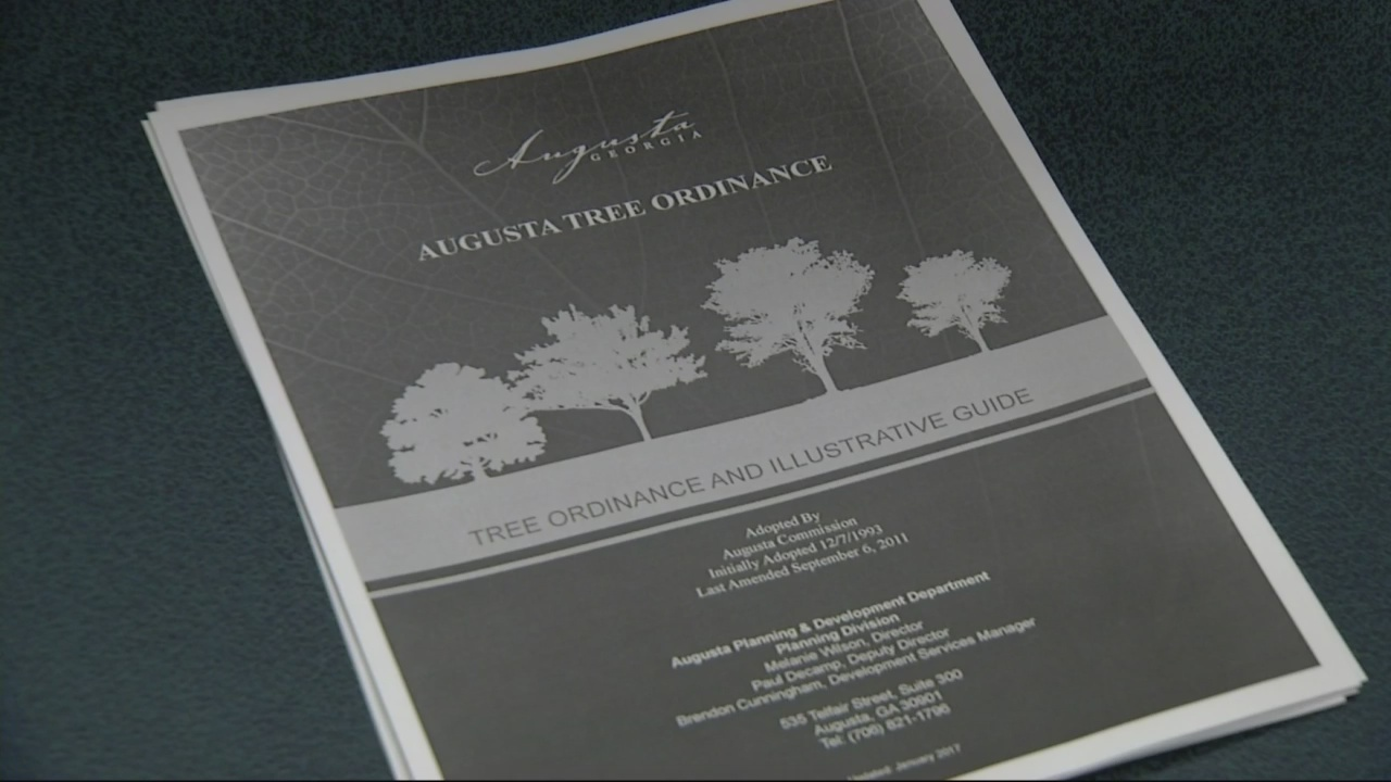 Augusta leaders question tree ordinance changes
