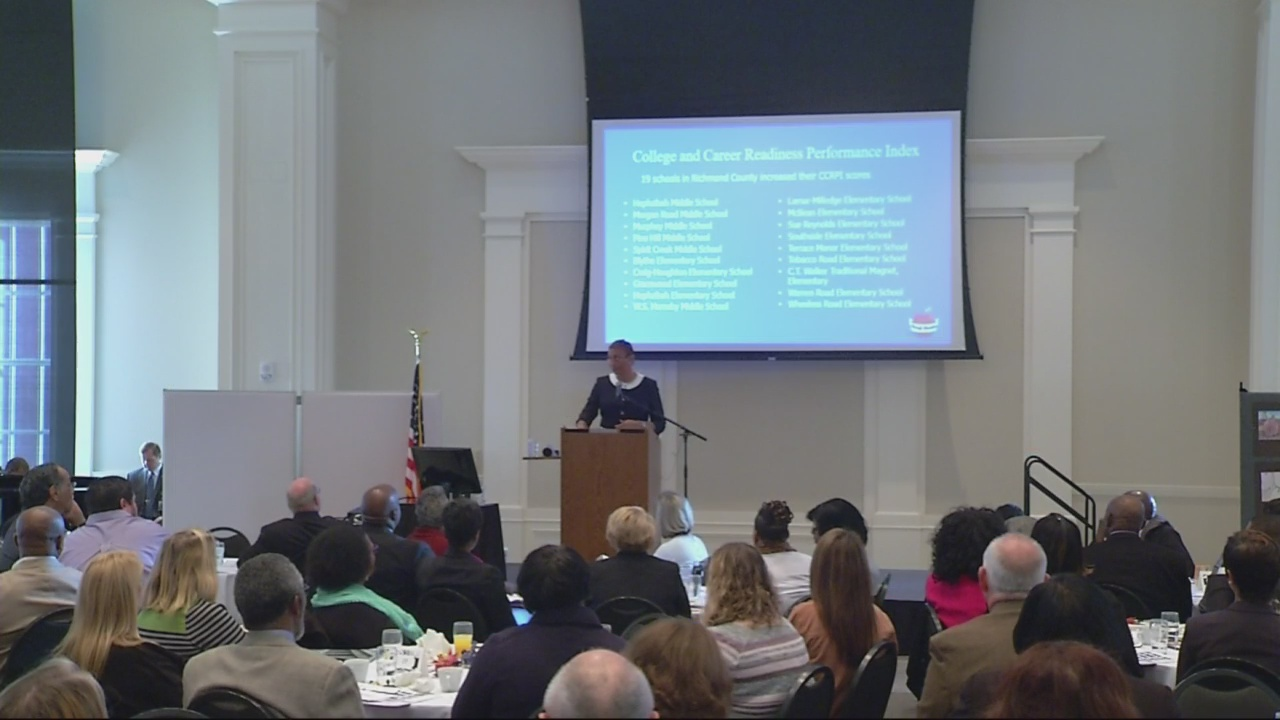 Richmond County School System Superintendent charts education success in annual report