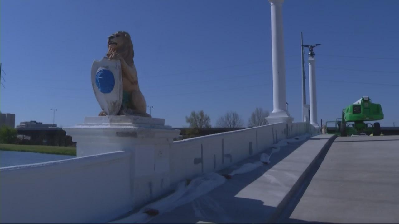 Butt Bridge nears its reopening