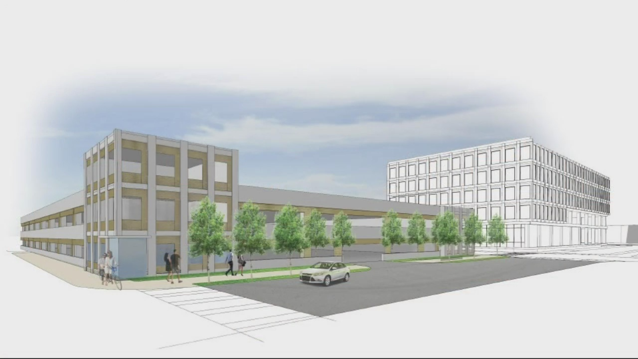 City will get revenue from Cyber Center parking deck but also expense