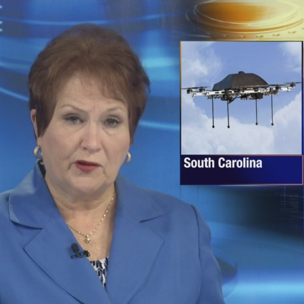 WJBF NewsChannel 6:Drones used to fly illegal material in S.C. prison