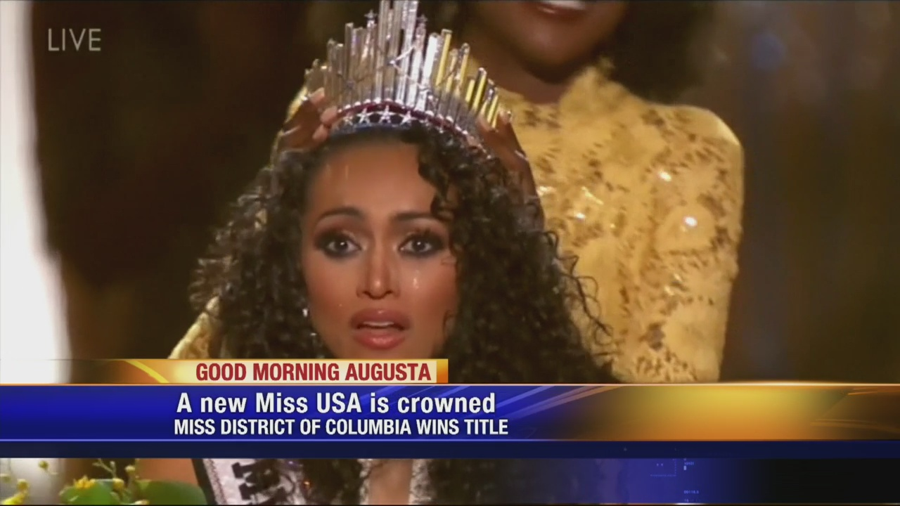 25-year-old chemist becomes Miss USA