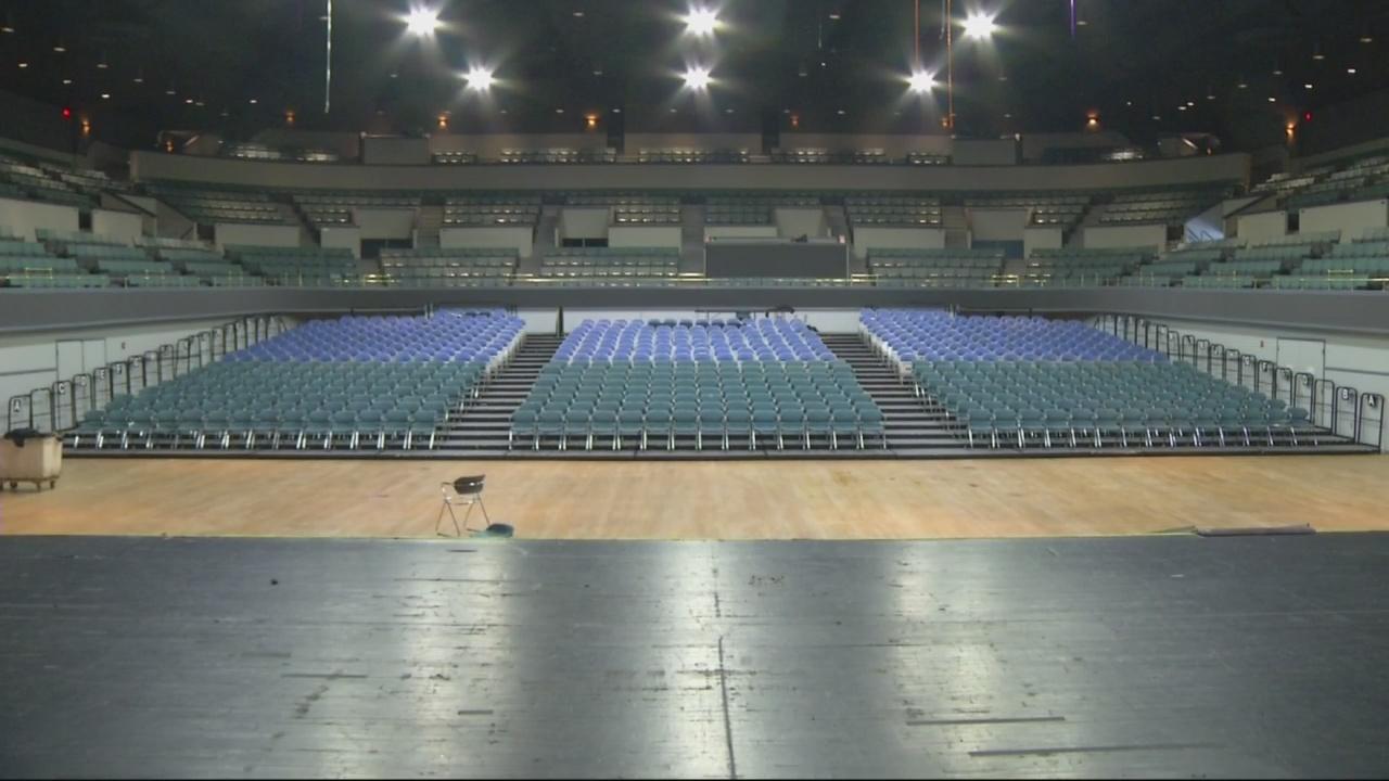 Bell Auditorium prepares for upgrades