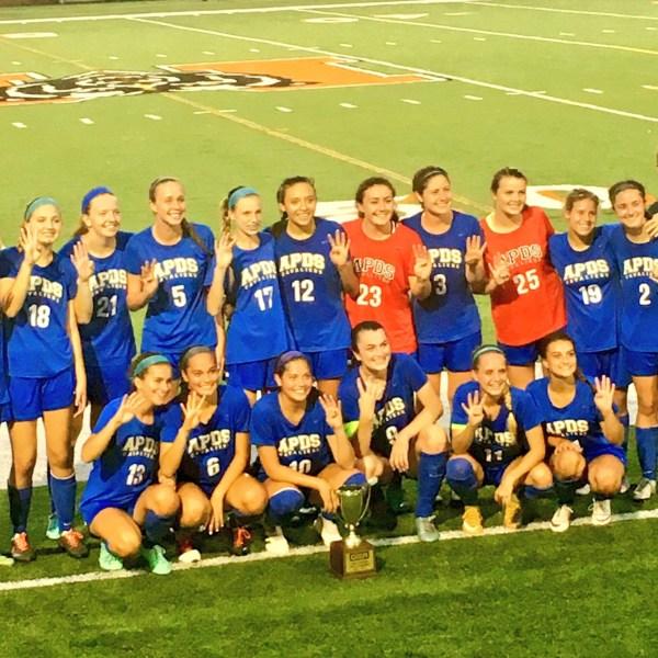 Augusta Prep girls soccer wins state_264283