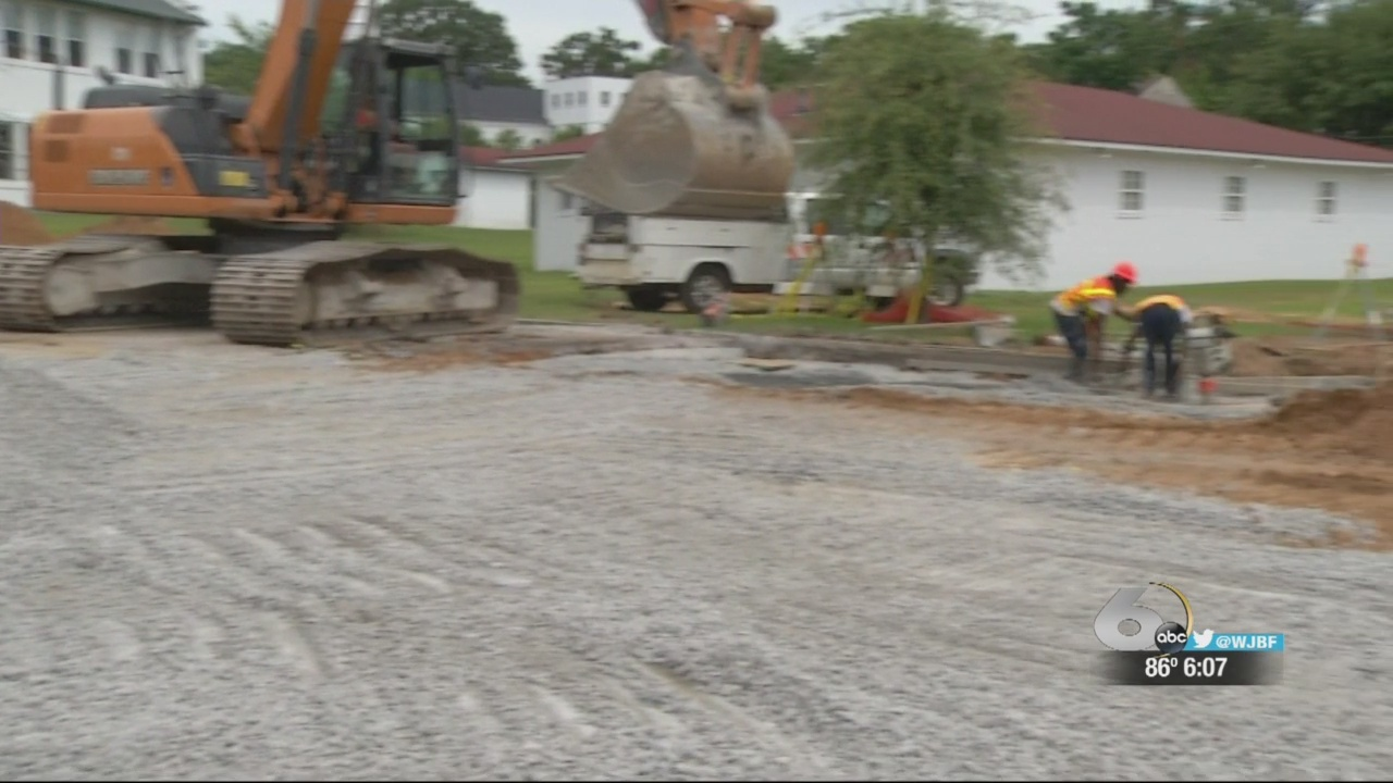 City works on more potential sink holes near Central Avenue