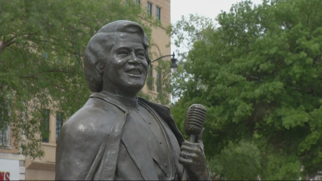 Commissioner says not enough James Brown in master-plans