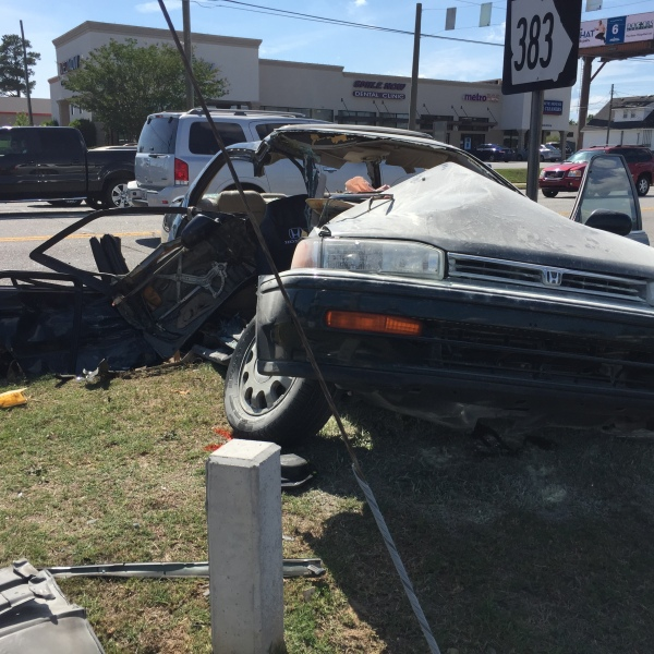 Crash near intersection of North Belair Road and Columbia Road- June 2, 2017_269793