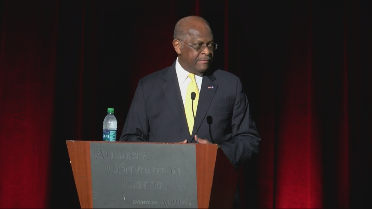 HERMAN CAIN GOP CONVENTION_270066