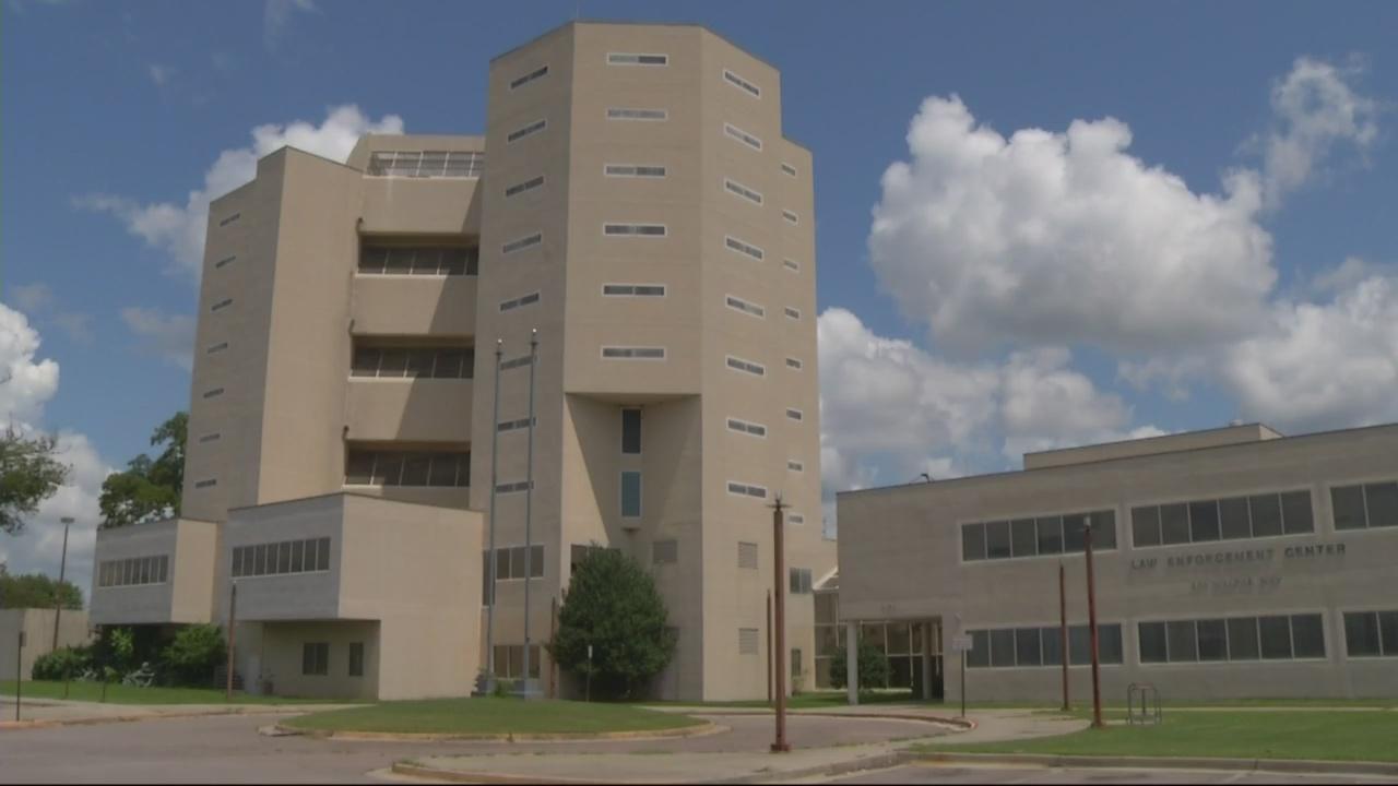 Old Law Enforcement Center not safe for visit