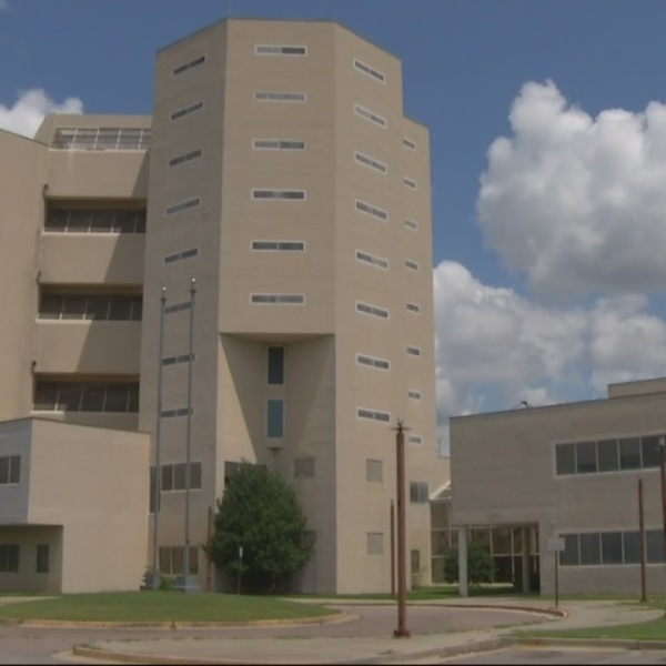 Old Law Enforcement Center not safe for visit
