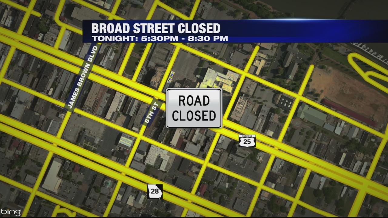 Broad St. closures
