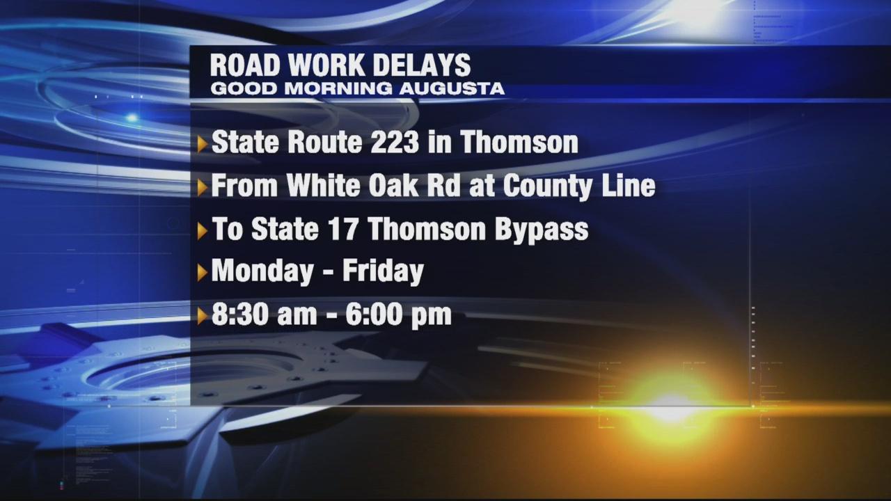 Road work delays 8-25-17_305342