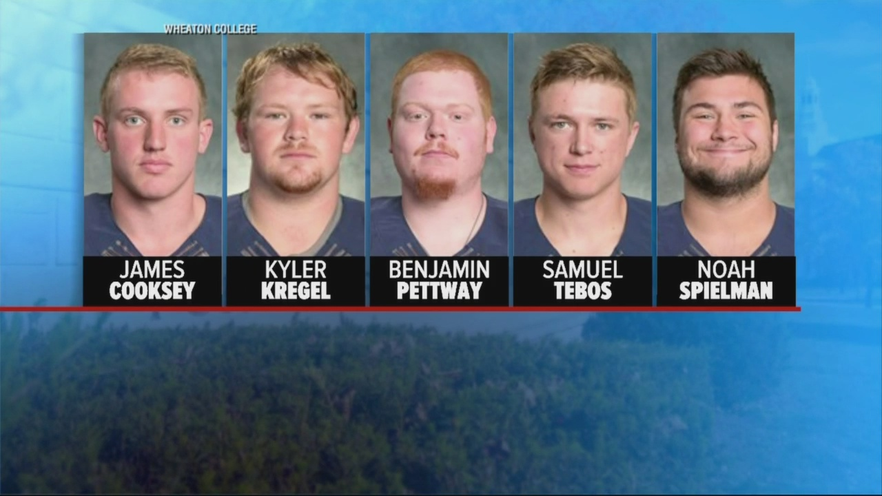 5 football players charged faces_316891