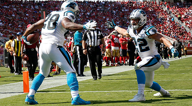 Panthers 49ers Football_312326
