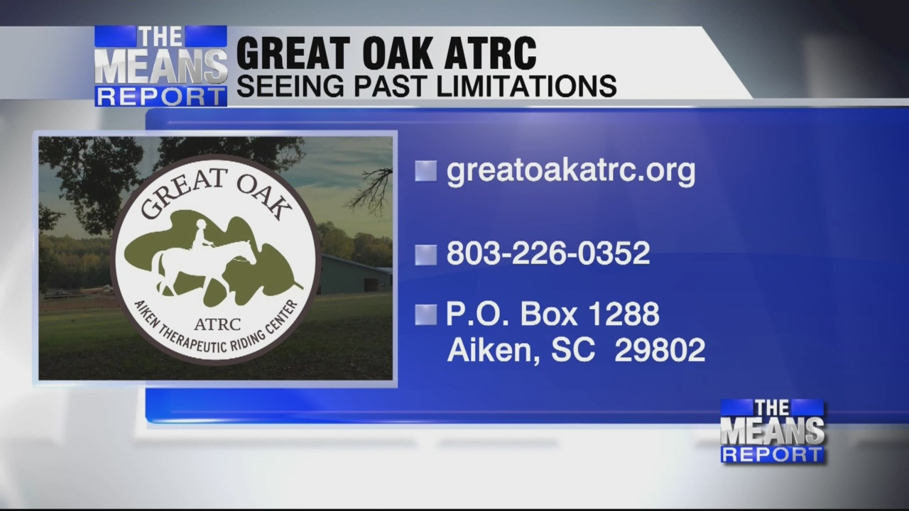 The Means Report - Great Oak Aiken Therapeutic Riding Center