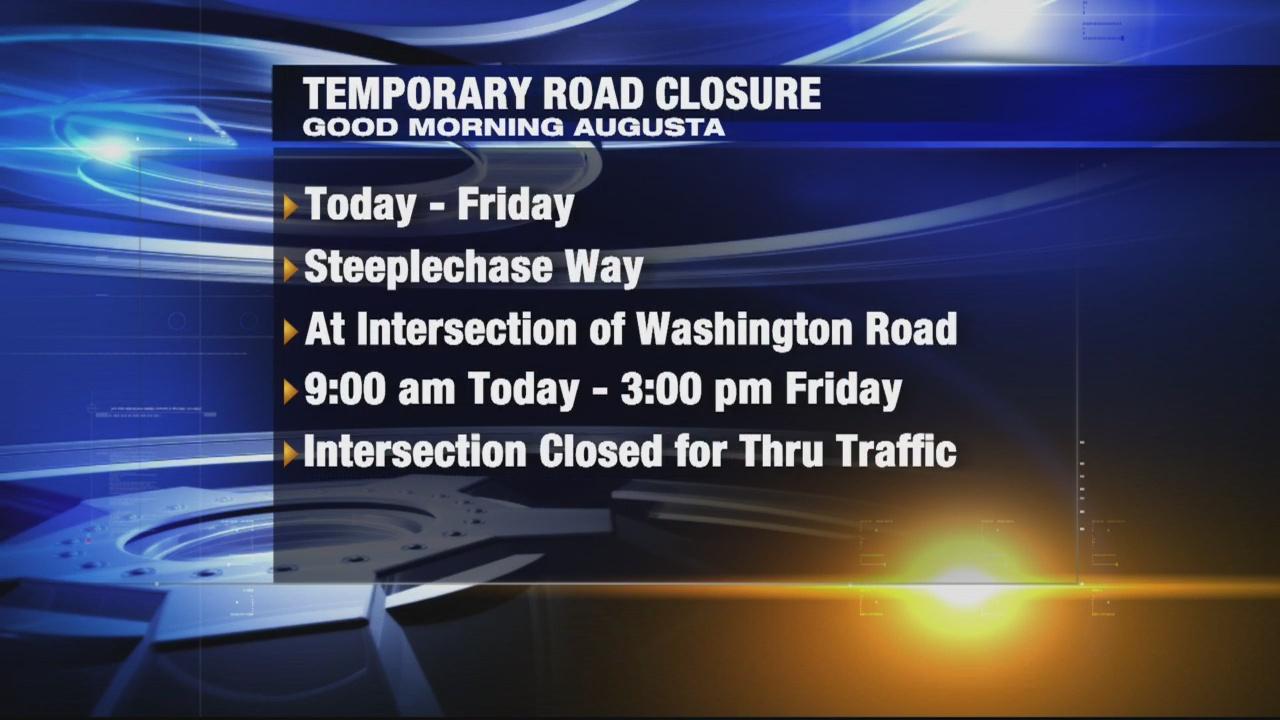 Temporary Road Closure in Col.Co.