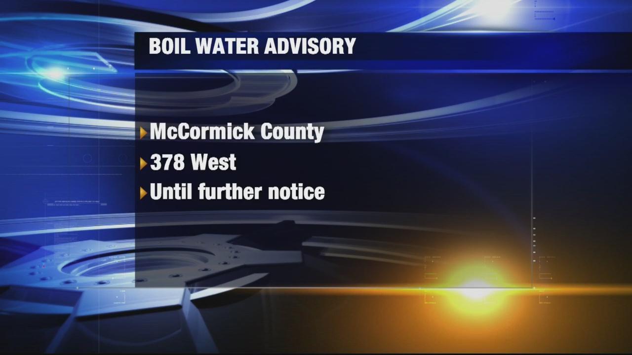 Boil Water Advisory Aiken Co.