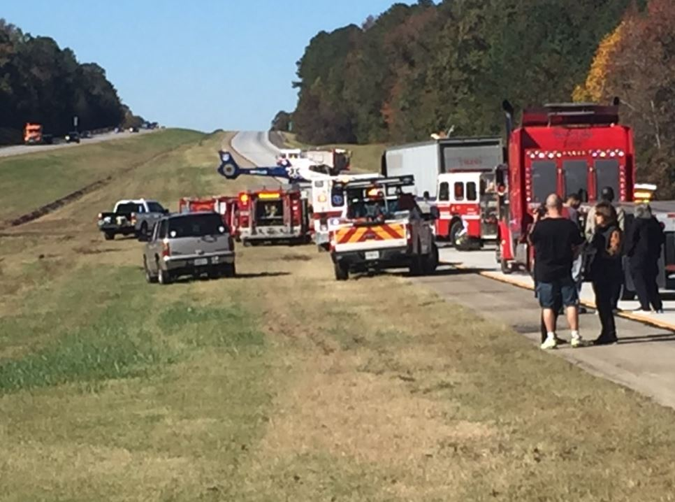 Update: Lanes back open on I-20 westbound after tractor