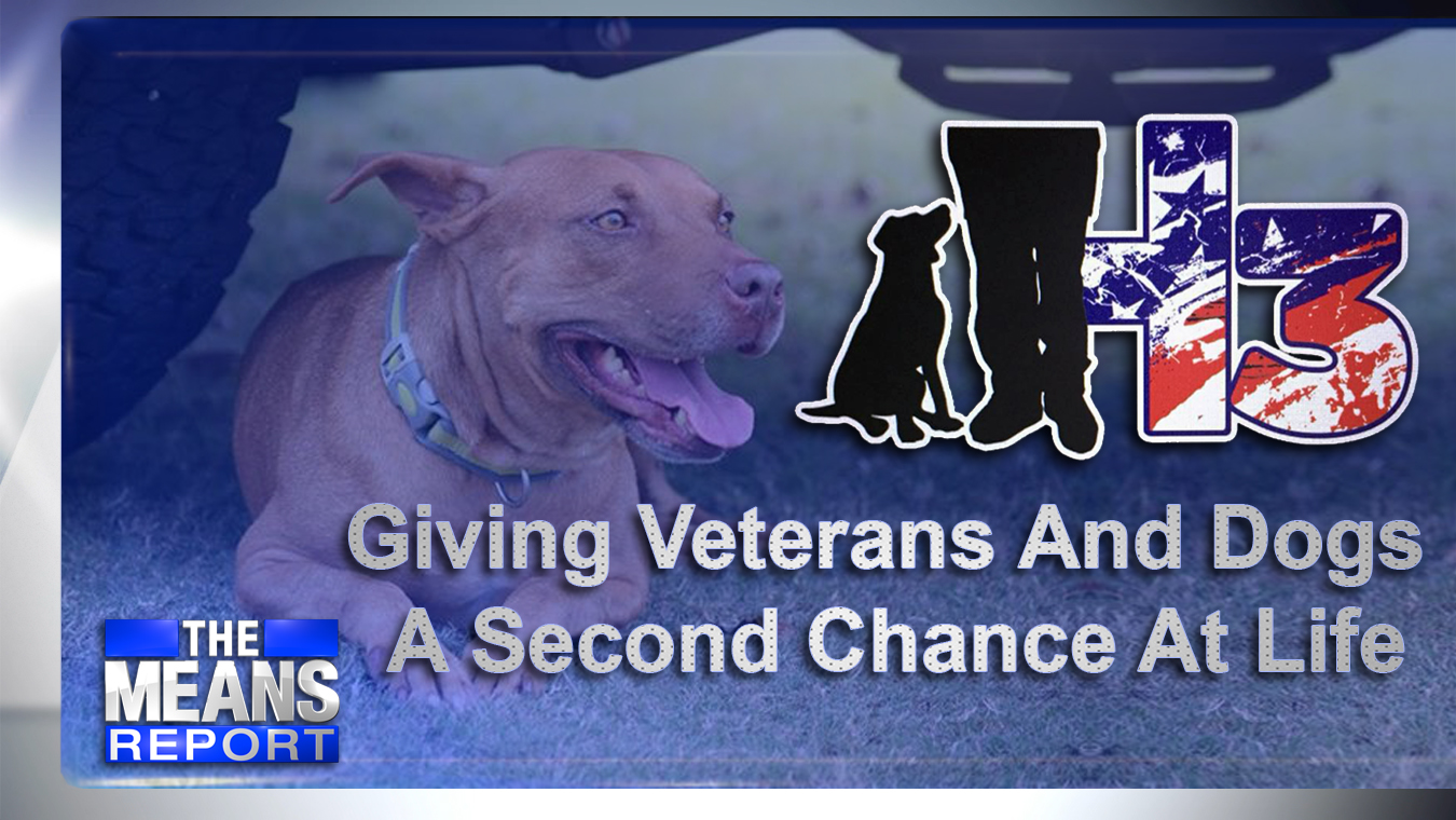 The Means Report - Giving Veterans And Dogs A Second Chance At Life