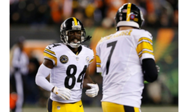 Antonio Brown, Ben Roethlisberger_361944