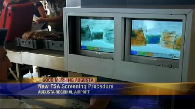 New TSA screening procedures announced at Augusta Regional