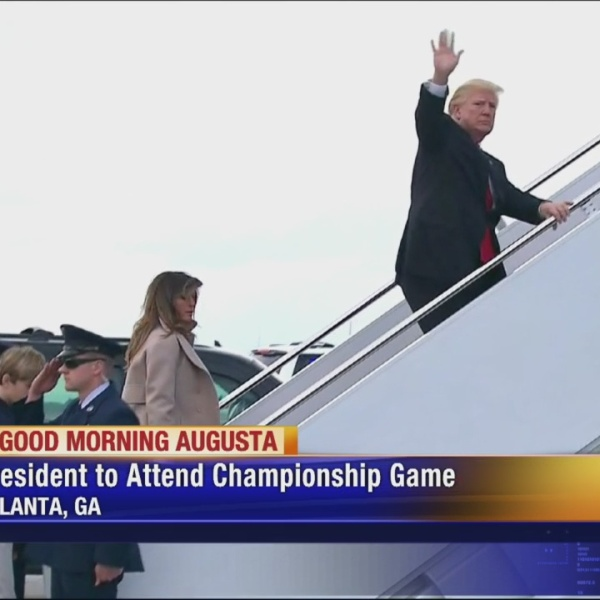 President Trump to attend college national championship game
