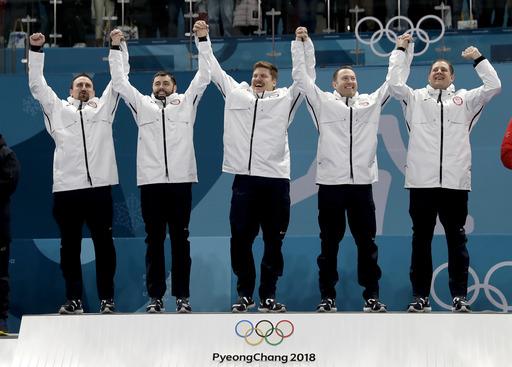 Pyeongchang Olympics Curling Men_386803
