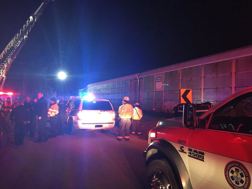 Train derailment near Lexington, S.C._375340