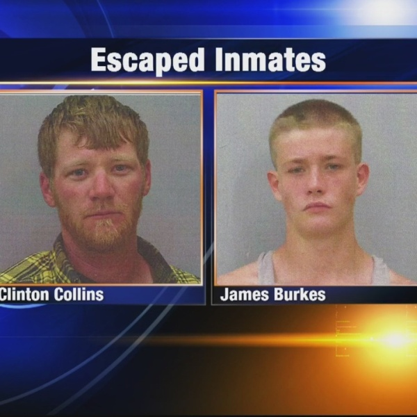 NOON LIVE Two escaped inmates back in custody after escaping Screven County Jail